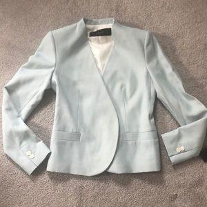 Zara Tiffany blue blazer. NWT